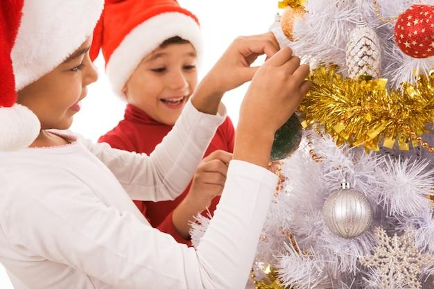 Natale дети случаю дети новый Premium Фотографии