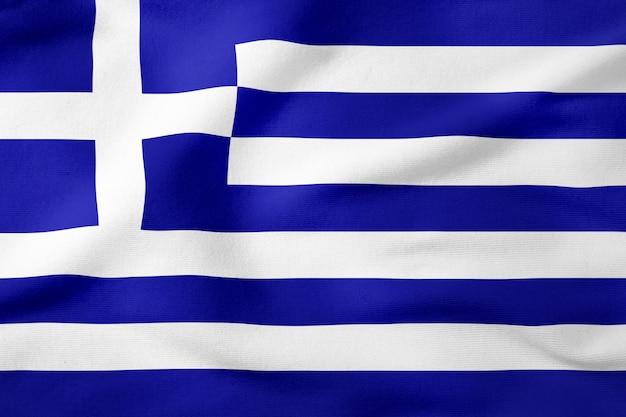 National flag of greece Premium Photo