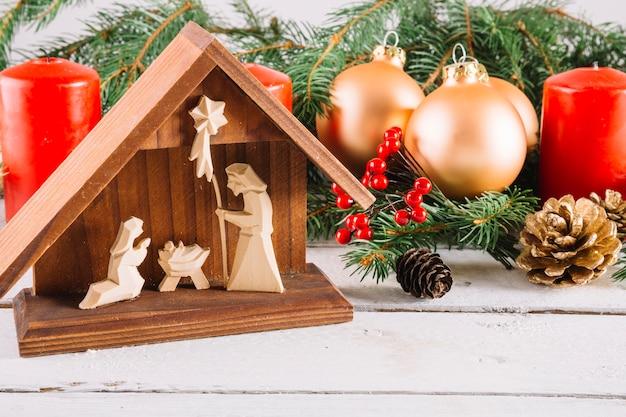 Nativity scene Free Photo