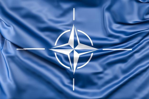 Natoの国旗 無料写真
