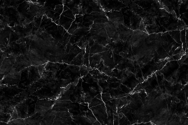 Natural black marble texture for skin tile wallpaper Premium Photo