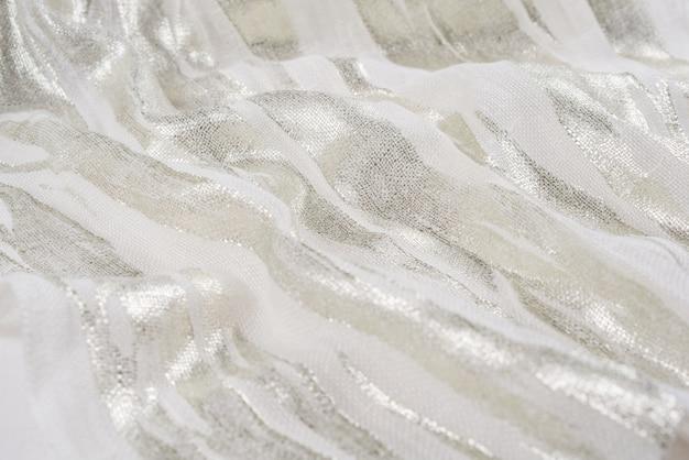 Natural fabric linen. sackcloth textured. Premium Photo
