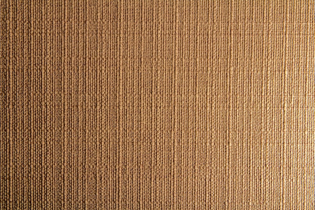 Natural fabric linen texture for design, sackcloth textured. brown canvas background. cotton. Premium Photo