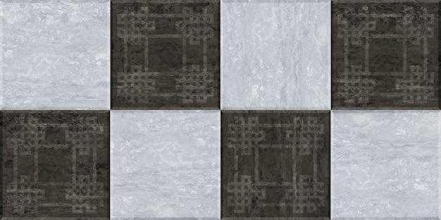 Натуральная гранитная плитка. бесшовные текстуры фона Premium Фотографии