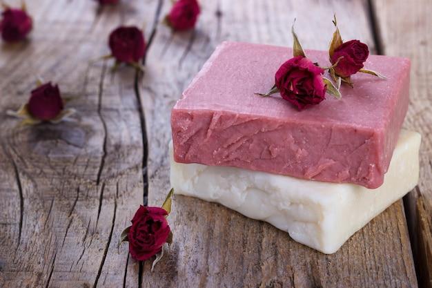 Natural hand made soap Premium Photo