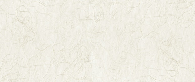 Natural japanese recycled paper texture. banner background Premium Photo