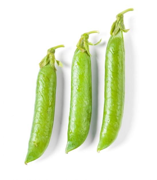 Natural peas Free Photo