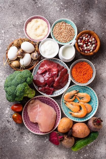 Natural products sources of chromium Premium Photo