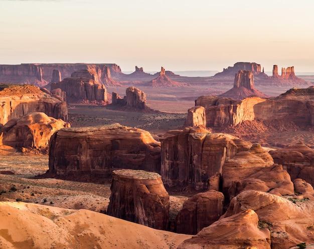 Natural scenery of horseshoe bay, grand canyon, colorado river, monument valley. arizona, usa Premium Photo