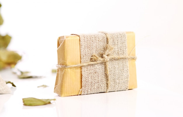 Natural soap with rope Free Photo