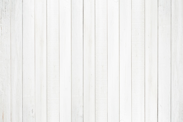 Natural Wood Wall Texture BackgroundEmpty Surface White Wooden For Design Top View Premium