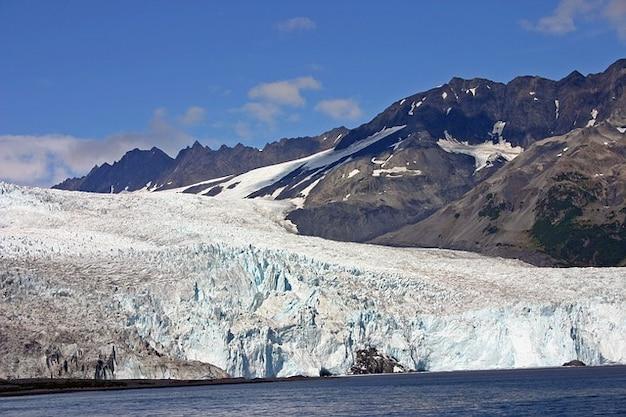 Nature alaska glacier mountain ice Free Photo