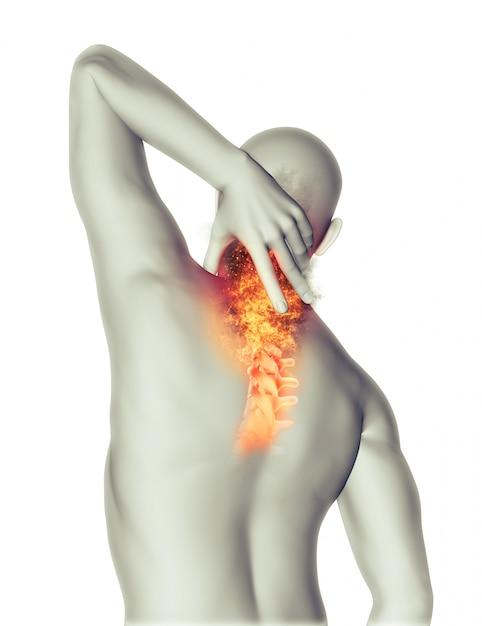 Neck pain Free Photo