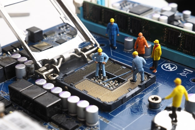 Network mainboard service toy broadcasting Free Photo