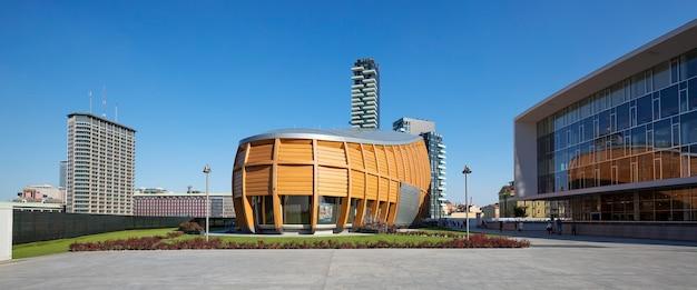 新しいビジネス地区ガリバルディ。 無料写真