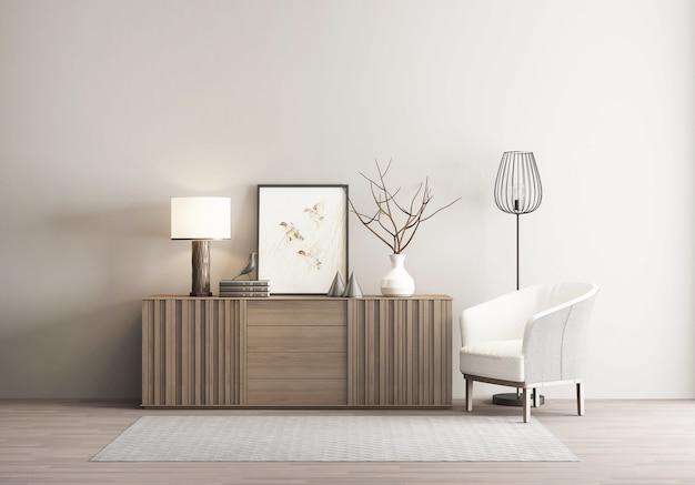 Premium Photo New Chinese Style Retro Interior Home Background