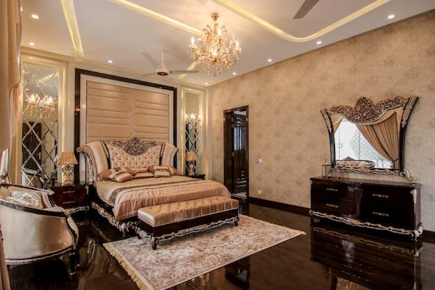 New luxury bedroom design Premium Photo