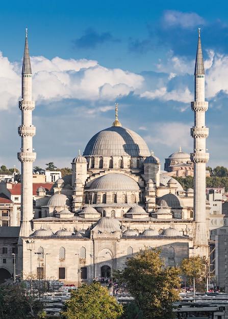 The new mosque Premium Photo