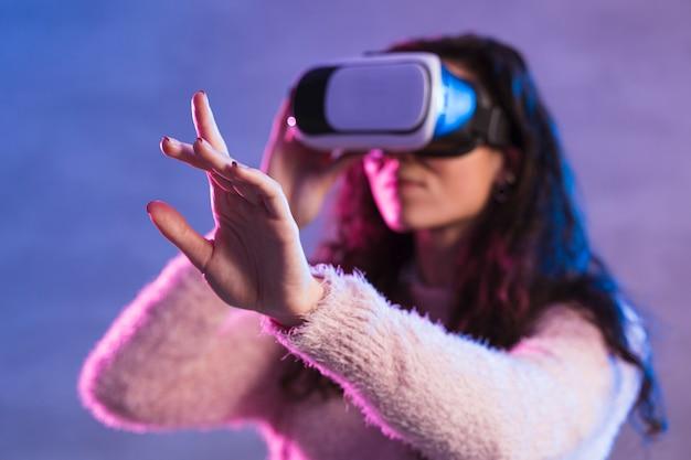 Новая технология виртуальной реальности гарнитура размыта Бесплатные Фотографии