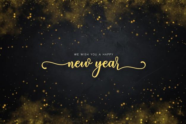 Sfondo del nuovo anno Foto Gratuite