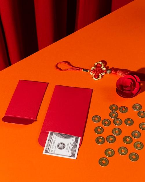 New year chinese 2021 high view yen money Free Photo