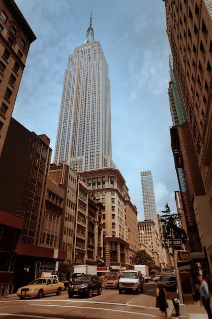 New york city manhattan fifth avenue 5th av us Premium Photo