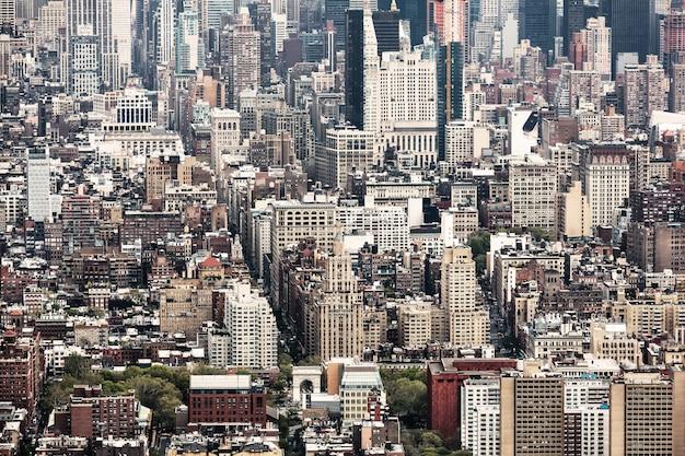 New york city manhattan midtown view Premium Photo