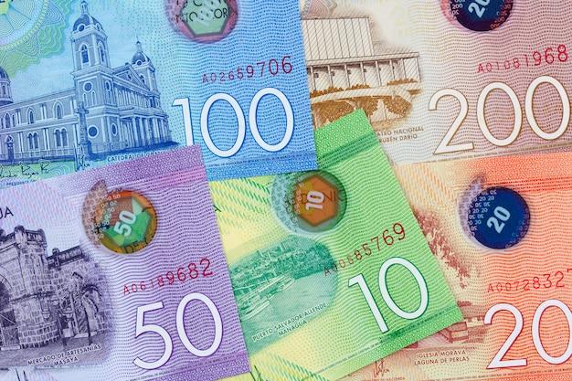 Nicaraguan money Premium Photo