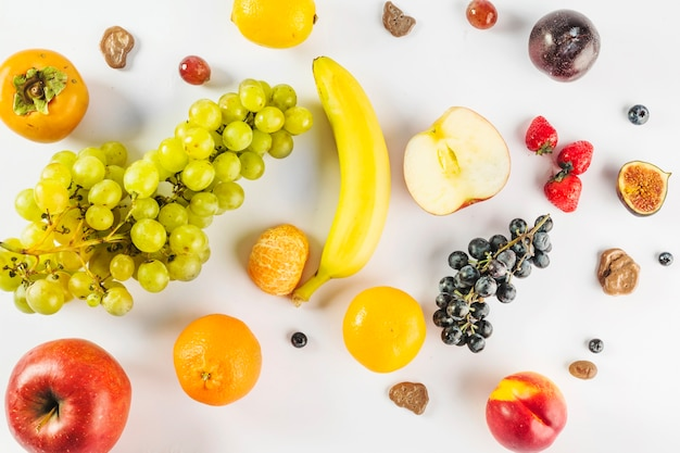 Nice and healthy fruits Free Photo