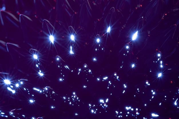 Night blue extreme close-up ferromagnetic metal Free Photo