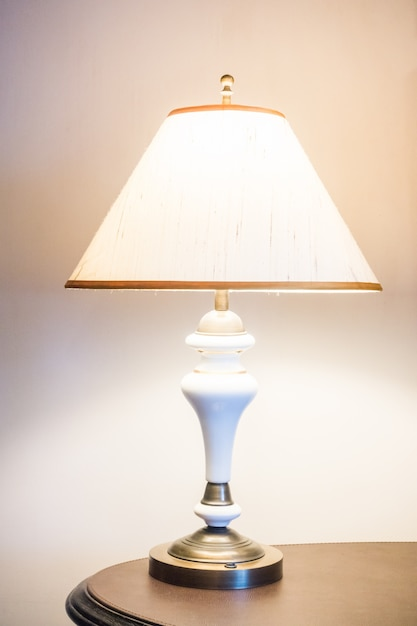 Wall Lamp With Shade : Night lamp shade wall pillow Photo Free Download
