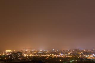Night scene  cityscape Free Photo