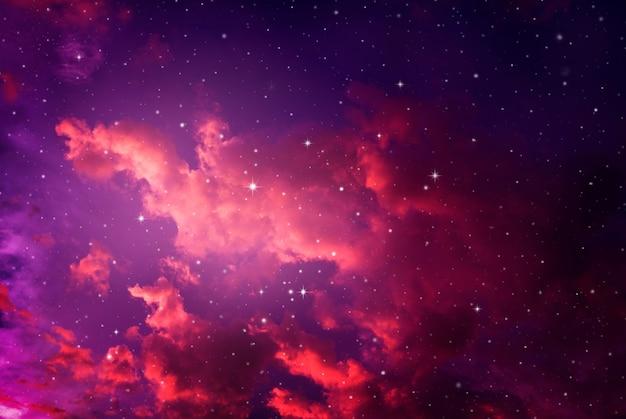 Night sky with stars. Premium Photo