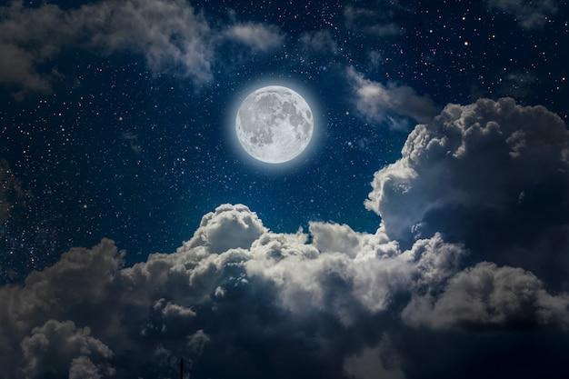 Ночное небо Premium Фотографии