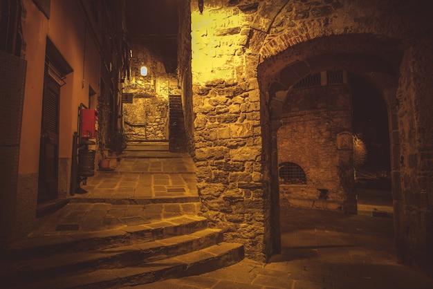 Night walk in porto venere Free Photo