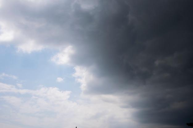 nimbus clouds and sunshine sky natural backgrounds photo premium