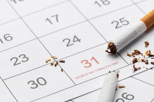 담배의 날 요소 구색 없음 무료 사진