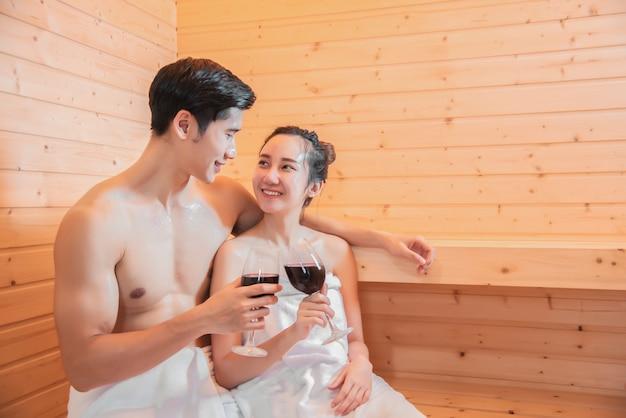 Фото азиатская баня
