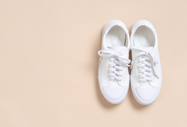 женские кроссовки кожаные туфли Premium Фотографии