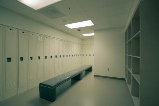 更衣室のロッカー 無料写真