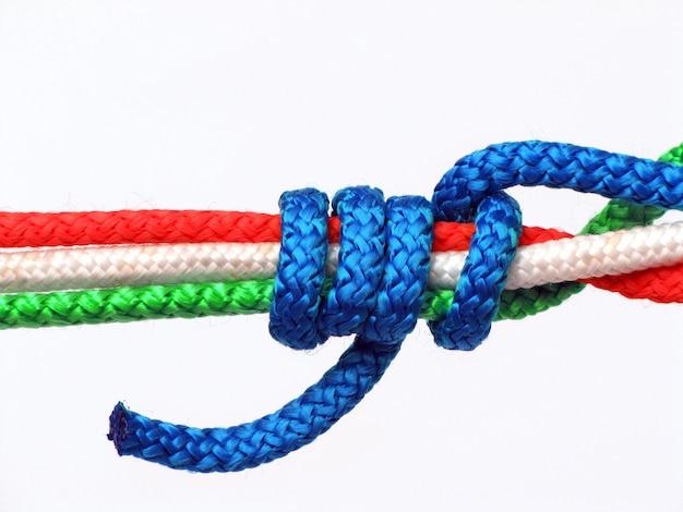 Node tricolor, italy Premium Photo