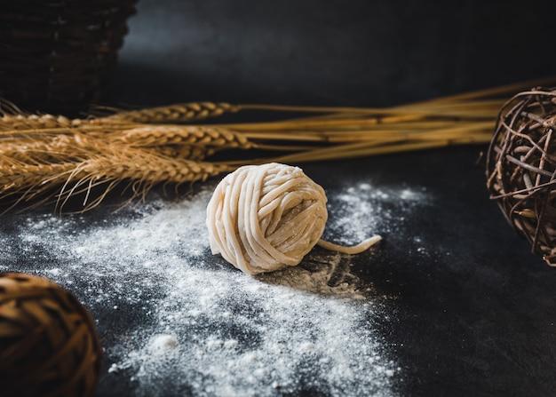 小麦粉麺パスタ 無料写真