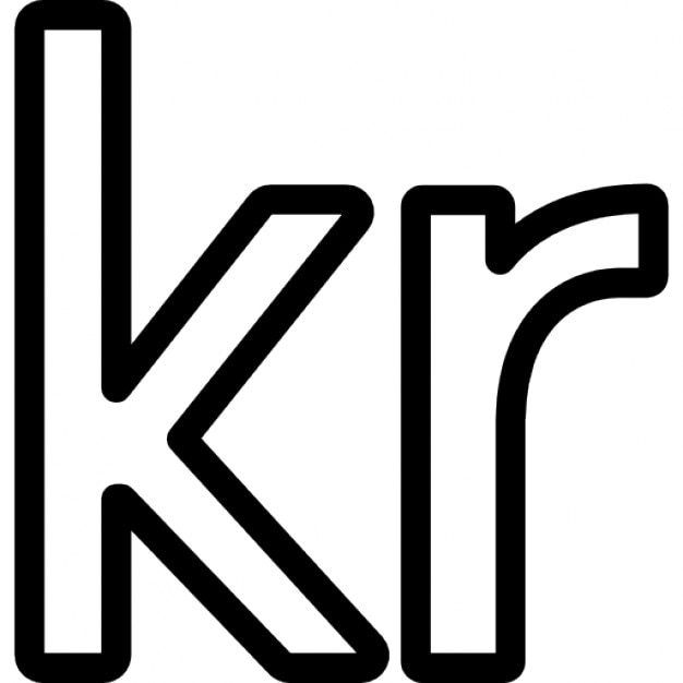 Norway Currency Symbol Norway Krone Currency Symbol