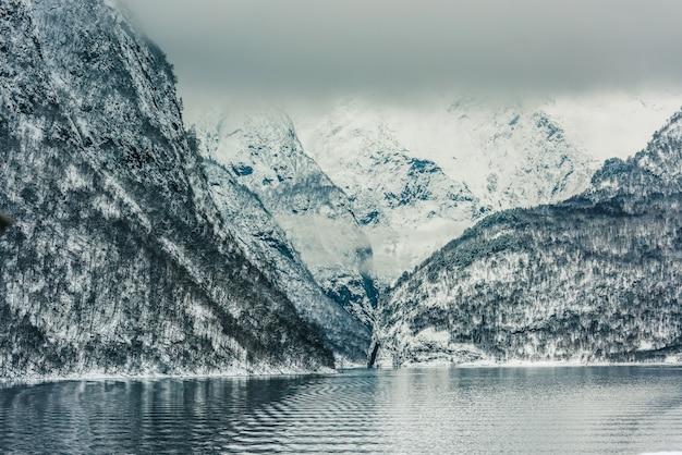 Norwegian fjords Premium Photo