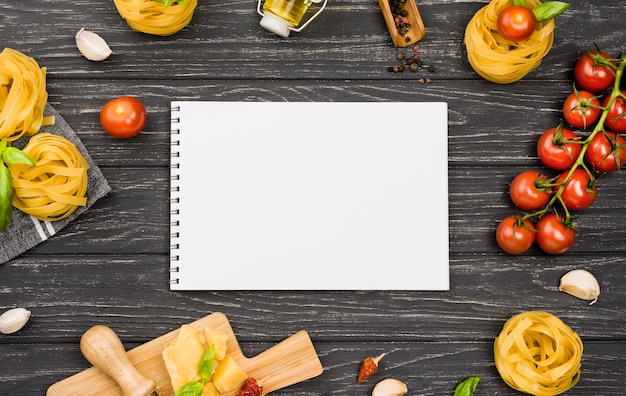 Ингредиенты для итальянской кухни Бесплатные Фотографии