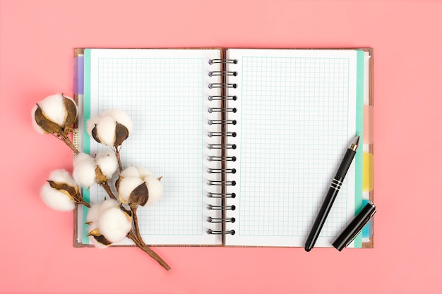 Notebook for records Premium Photo