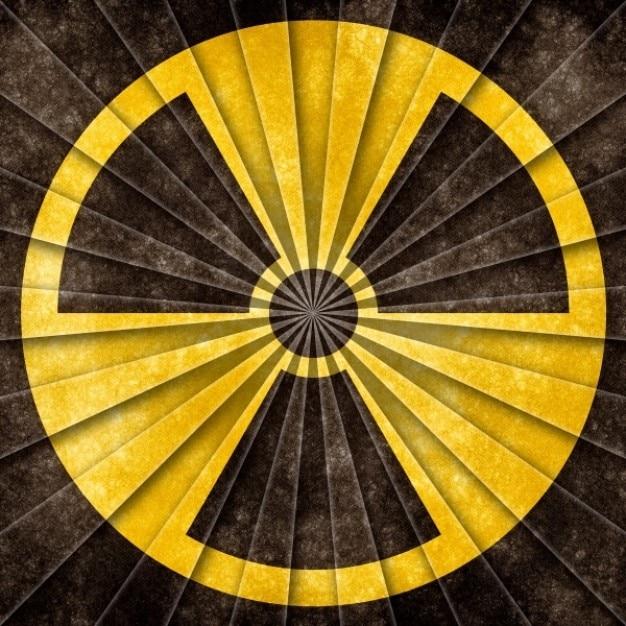 Ядерные символ гранж Бесплатные Фотографии