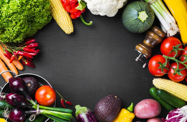 nutrition vegetables and kitchenware photo