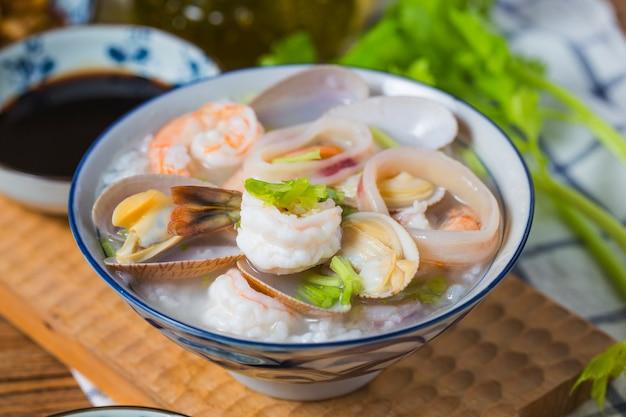 Питательные и вкусные морепродукты Premium Фотографии