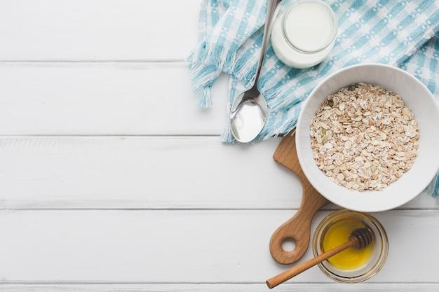 Oatmeal near honey dairy 23 2147758298
